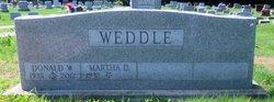 Donald W Weddle
