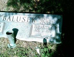 Elizabeth <i>George</i> Balusek