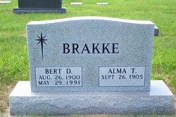Alma T Brakke