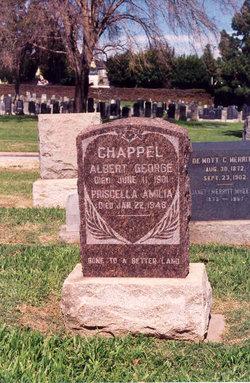 Priscilla Amelia <i>Reynolds</i> Chapple