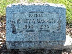 Willey A Gannett