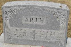 Mary <i>Keller</i> Arth