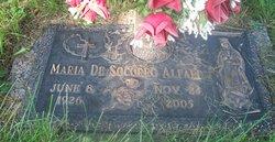 Maria <i>De Socorro</i> Alfaro