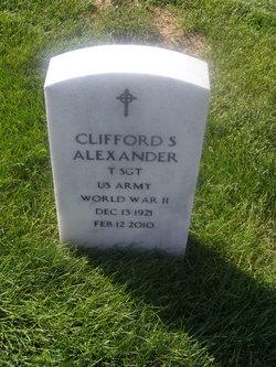 Clifford S Alexander