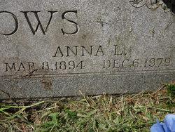 Anna L. <i>Douglas</i> Burrows