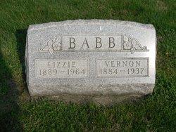 Elizabeth Lizzie <i>Stephens</i> Babb