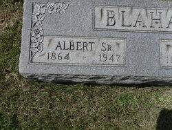 Albert Blaha, Sr