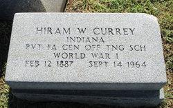 Hiram W Currey