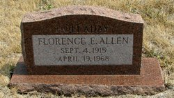 Florence E. <i>Holladay</i> Allen