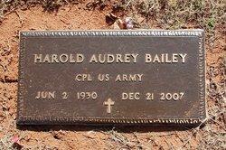 Harold Audrey Bailey