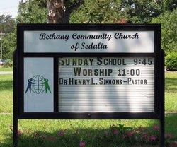 Bethany Community Church of Sedalia Cemetery