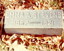 Emma Ann <i>Williams</i> Stevens