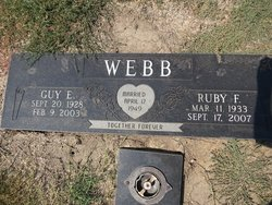 Ruby Faye <i>Sellars</i> Webb