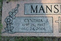 Cynthia Joan <i>Petersen-Wobig</i> Mansfield