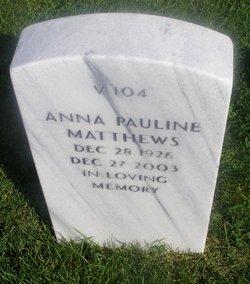 Anna Pauline Matthews