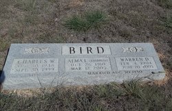 Alma L <i>Randolph</i> Bird