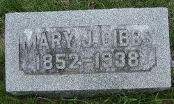 Mary J. <i>Reed</i> Gibbs
