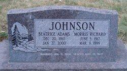 Beatrice <i>Adams</i> Johnson
