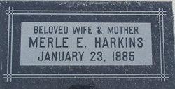 Merle Eva <i>Johnson</i> Harkins