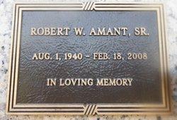 Robert Wesley Amant, Sr