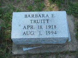 Barbara E Truitt