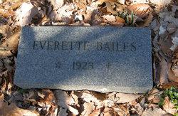 Everett Bailes