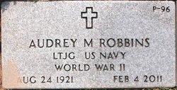 LTJG Audrey <i>Conner</i> Robbins