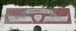 Lillie Irene Irene <i>Miller</i> Anderson