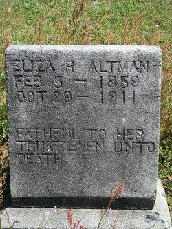Eliza Rebecca <i>Rowell</i> Altman