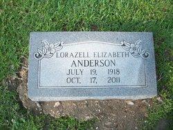 Lorazell Elizabeth <i>Wolfe</i> Anderson