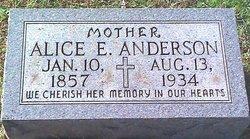 Alice E. <i>Coleman</i> Anderson