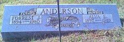 Alva E. Anderson