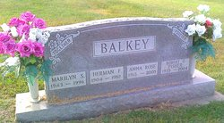 Anna Rose <i>Hayden</i> Balkey