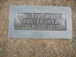 George Worthen Agee