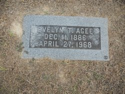 Evelyn Ann <i>Tuther</i> Agee
