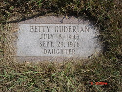 Betty Mae Guderian