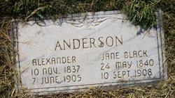 Jane <i>Black</i> Anderson