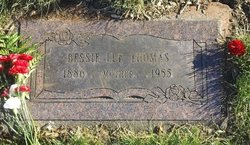 Bessie Lee <i>Dutton</i> Thomas