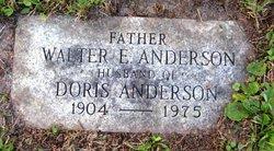 Walter E Anderson