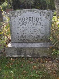 Mary Jane <i>Dicks</i> Morrison