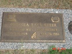Georgia Faye <i>Hutson</i> Etter