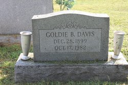 Goldie B <i>Deviney</i> Davis