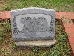 Mary A. <i>Ivey</i> Davis