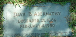 Dave B Abernathy