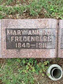 Mary Ann Kau Fredenberg