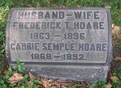 Carrie E <i>Semple</i> Hoare