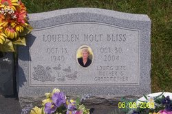 Louellen <i>Holt</i> Bliss