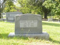 Minnie <i>Clapp</i> Bain