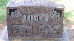 Ann <i>Wellington</i> Elder
