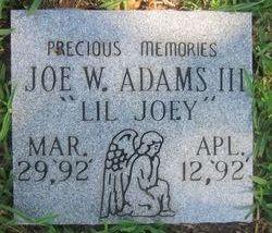 Joe W Lil Joey Adams
